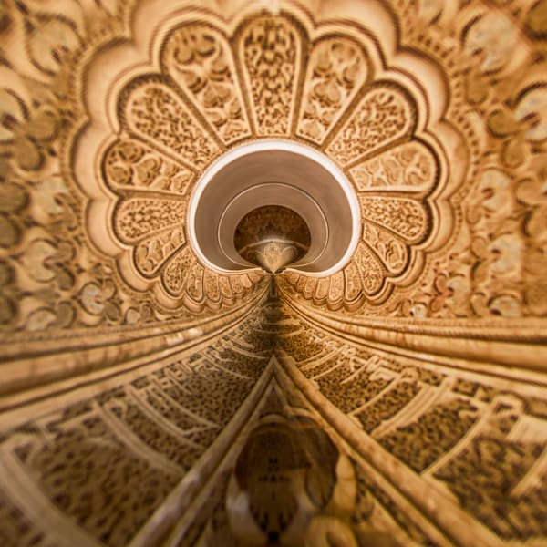 Ben Youssef Madrasa | Tiny Planet Art Photography