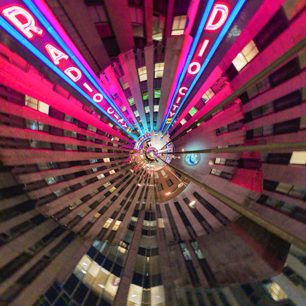 Radio City Music Hall | Tiny Planet Art Photography