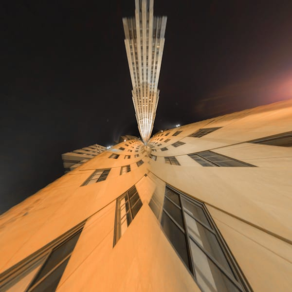 Rockefeller Center | Tiny Planet Art Photography