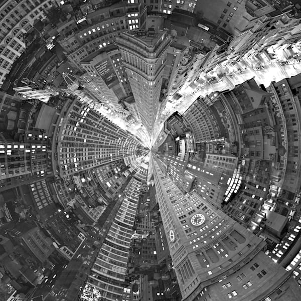Flatiron Building | Tiny Planet Art Photography