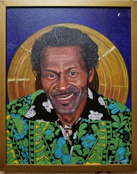 Chuck Berry Art | Vasquez Art
