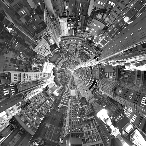 New York City II | Tiny Planet Art Photography