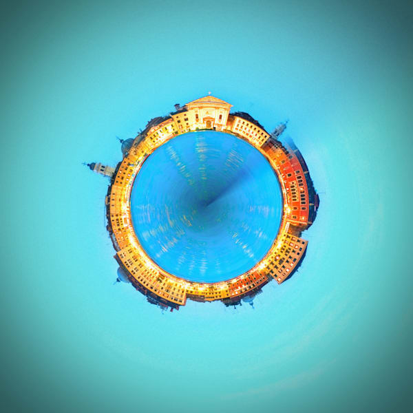 Venice Italy | Tiny Planet Art Photography