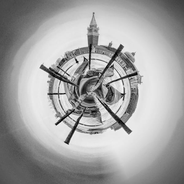 St Mark's Square II | Tiny Planet Art Photography