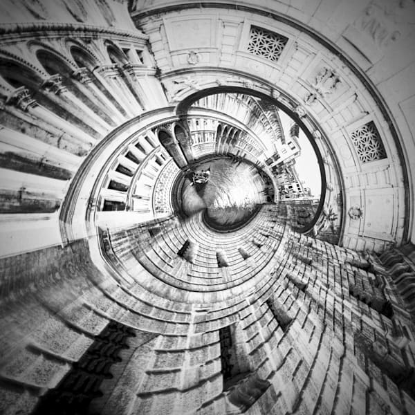 Bridge of Sighs | Tiny Planet Art Photography