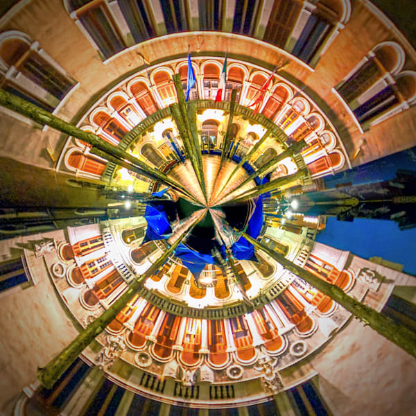 Grand Canal | Tiny Planet Art Photography