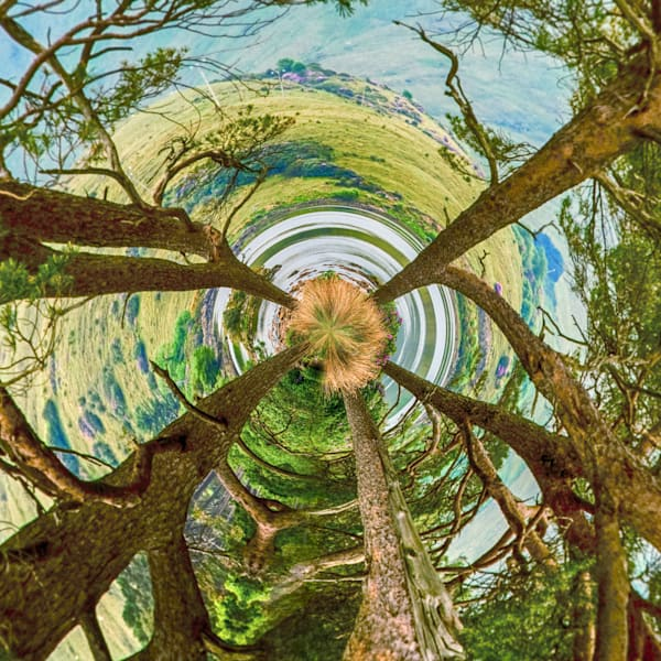Connemara Loop | Tiny Planet Art Photography