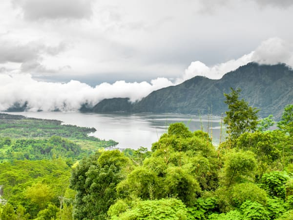 Lake Batur, Bali II | Tropical Landscape Photography Print