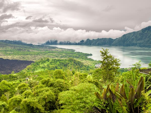 Lake Batur, Bali | Tropical Landscape Photography Print