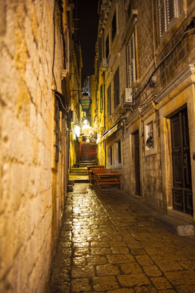 Dubrovnik Street Color | Urban Art Photography Print