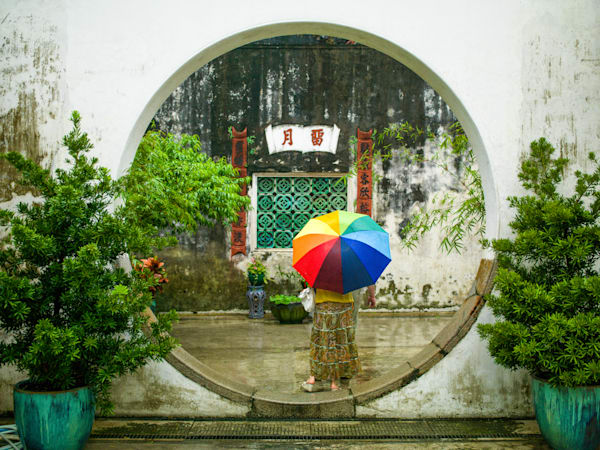Macao Mandarin House | Urban Art Photography Print