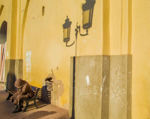 Marrakech Wise Man | Urban Art Photography Print