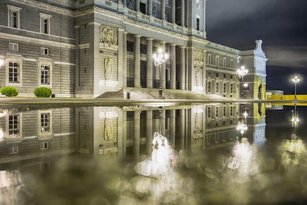 Madrid Cathedral Reflection | Travel Photography Print
