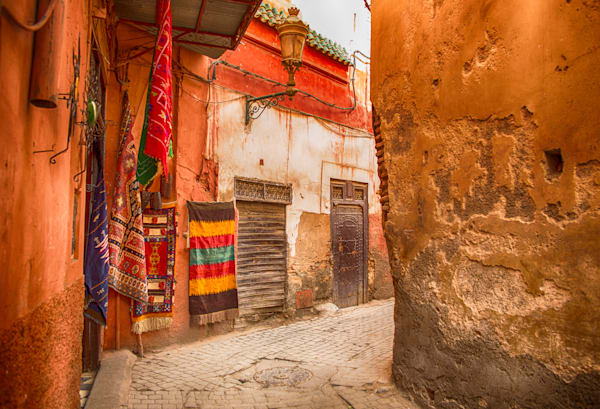 Marrakech Street Scene III | Urban Art Photography Print