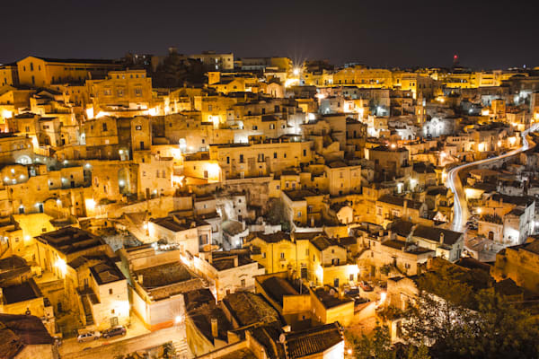 The Sassi of Matera Italy II | Cityscape Art Photography Print