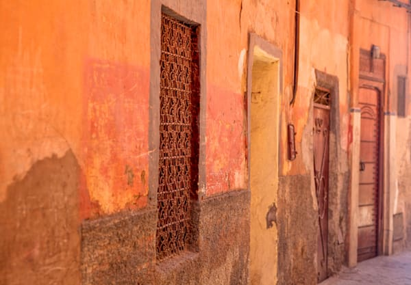 Morocco Narrow Street | Urban Art Photography Print
