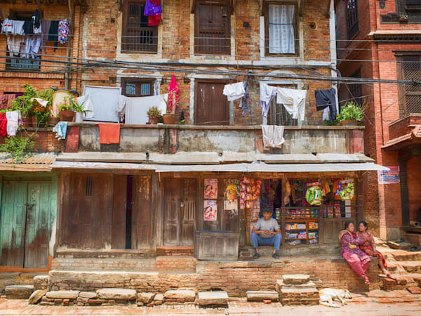 Bhaktapur Nepal | Urban Art Photography Print