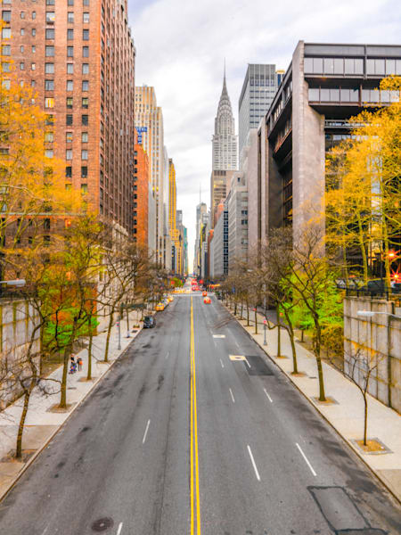 Autumn in New York | Cityscape Art Photography Print
