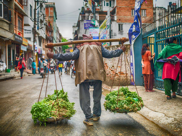 Kathmandu Delivery | Urban Art Photography Print
