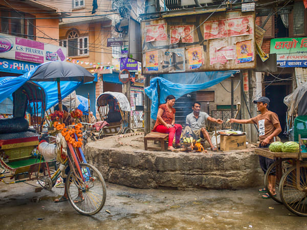 Kathmandu Exchange | Urban Art Photography Print