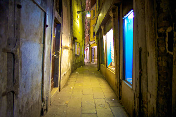 Venice Mystery Alley | Urban Art Photography Print