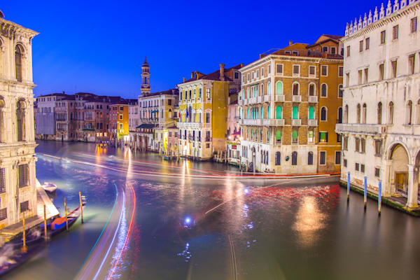 Grand Canal Flash | Cityscape Art Photography Print