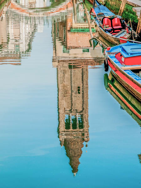 Venice Campanile Reflection | Urban Art Photography Print