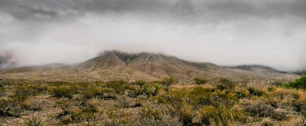 Cloudy Franklin Mountains II