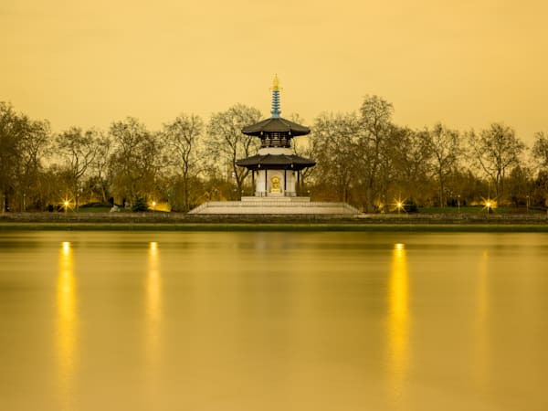 London Peace Pagoda | London Art Photography Print