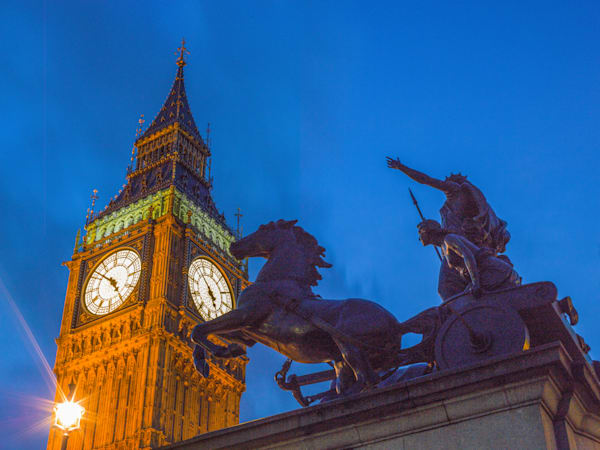Big Ben Blue hour III | London Art Photography Print