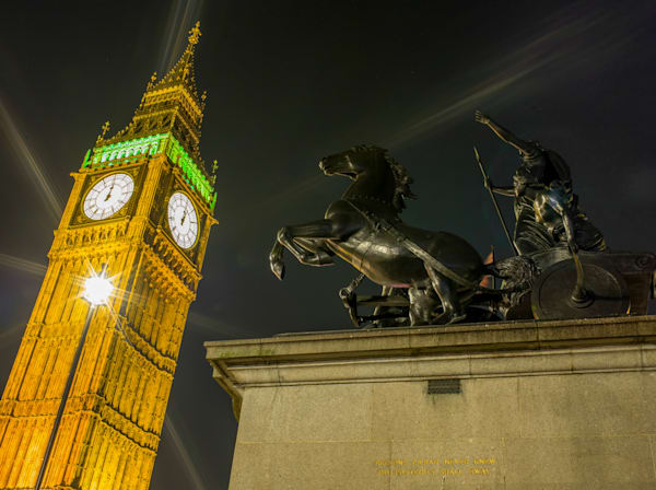 Boadicea and Her Daughters | London Art Photography Print