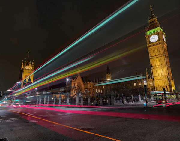 Parliament Streaker | London Art Photography Print