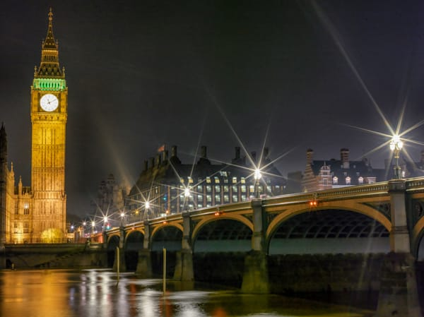 Big Ben & Westminster Bridge | London Art Photography Store