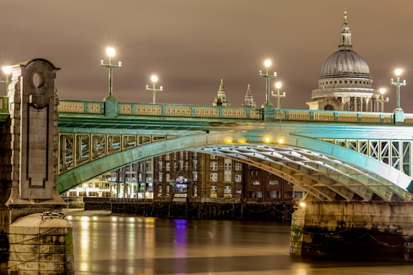 Southwark Bridge | London Art Photography Print