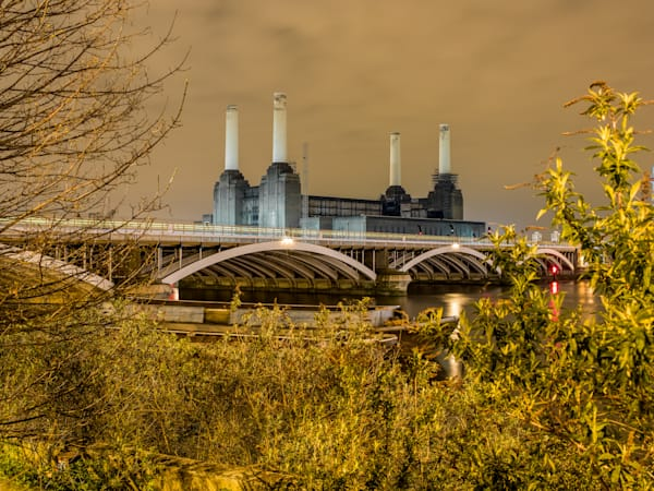 Iconic Battersea Power Station | London Art Photography Print