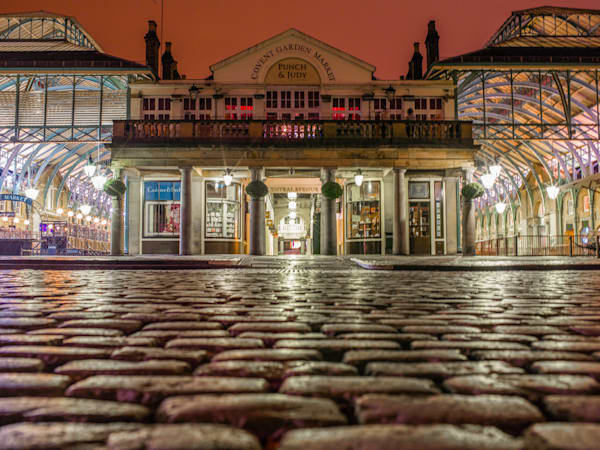Covent Garden Cobblestones | London Art Photography Print