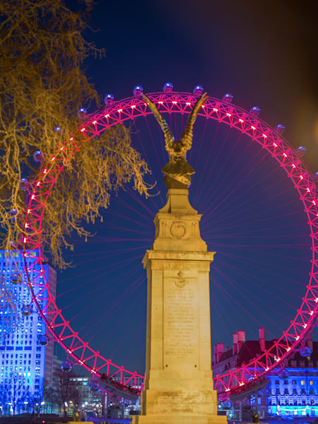 The Eagle and Then Eye | London Art Photography Print