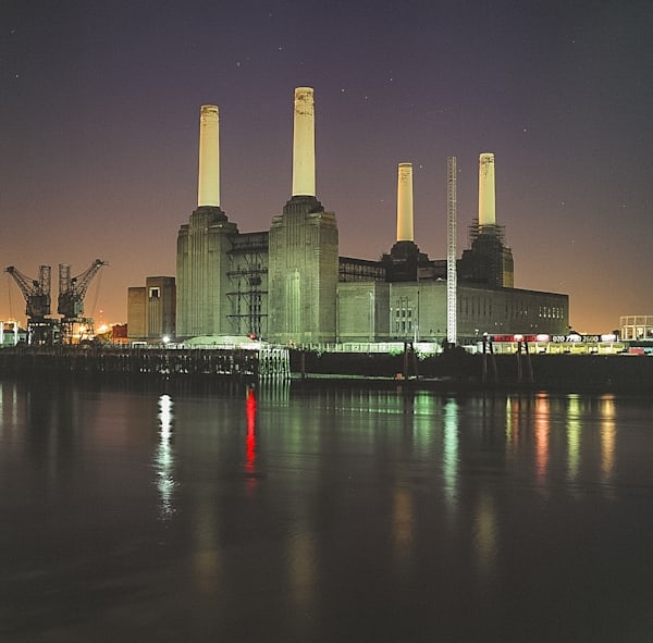 Battersea Power Station Analog II | London Art Photography Print
