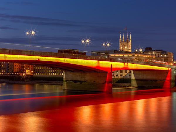 London Bridge Glow | London Art Photography Print