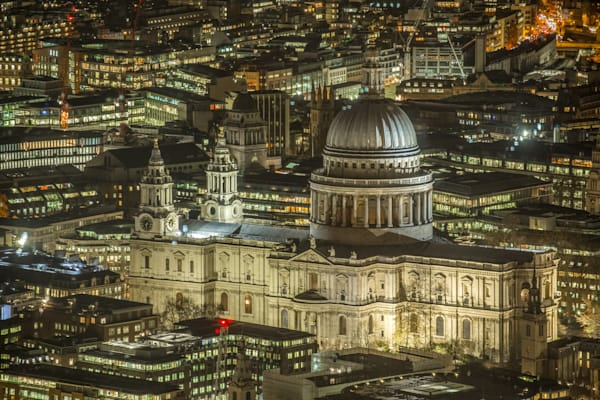 St Paul's From Above | London Art Photography Print