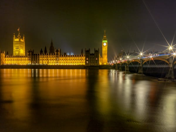 Westminister Palace & Bridge | London Art Photography Print