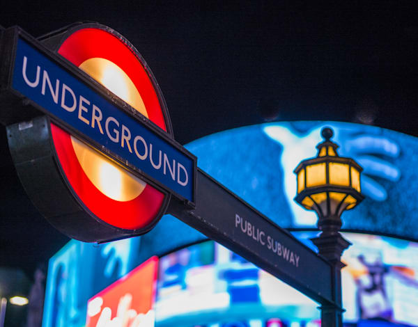 Underground | London Art Photography Print