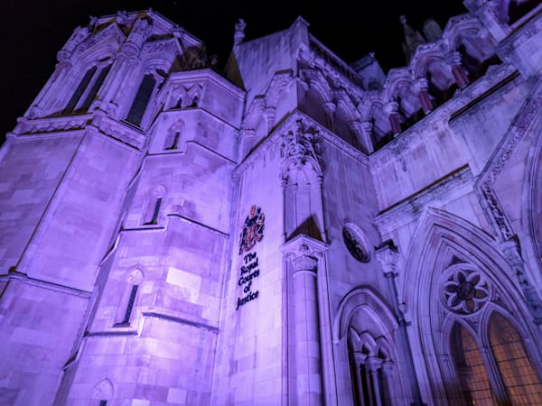 Royal Courts Of Justice   London Art Photography Print