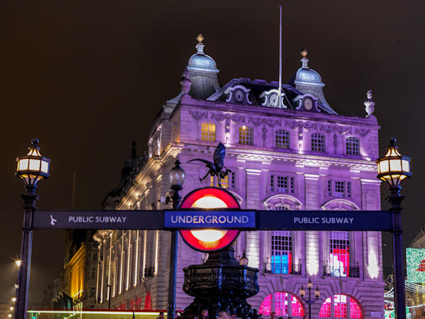 Piccadilly   London Art Photography Print