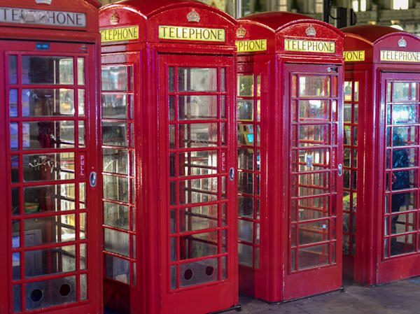 Iconic Red Phone Boxes | London Art Photography Print