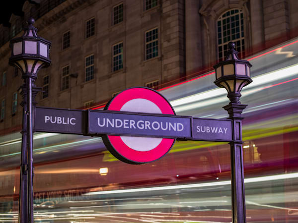 Piccadilly Underground | London Art Photography Print