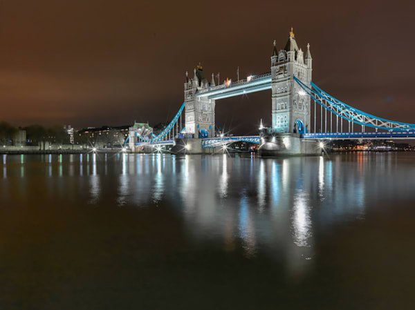 Tower Bridge Reflection | London Art Photography Print
