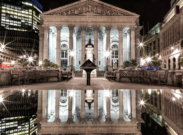 Royal Exchange Reflection | London Art Photography Print