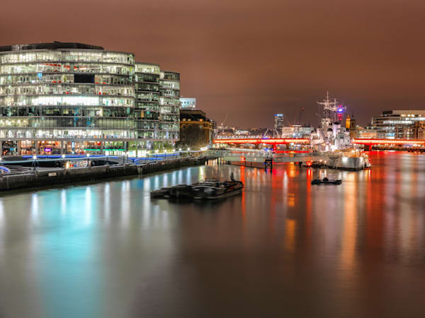 More London & HMS Belfast | London Art Photography Store