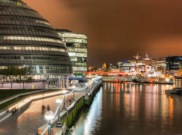 London City Hall & HMS Belfast